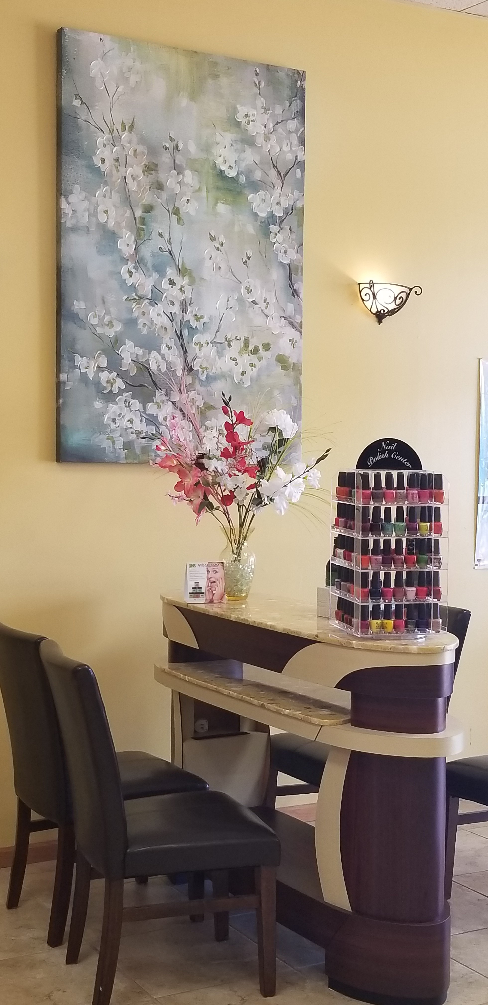 Image Nail and Spa Reception